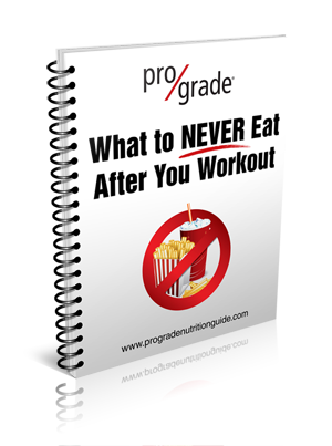 What to Never Eat After You Workout